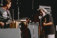 Bob Weir and Jerry Garcia