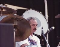 "Bill Kreutzmann performing ""Rhythm Devils"" (""Drums"")"