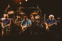 Grateful Dead and Steve Miller: Bill Kreutzmann, Bob Weir, Steve Miller, Mickey Hart, Jerry Garcia