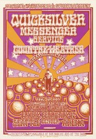 Quicksilver Messenger Service, Country Weather, Mineral Water - Lights are by the Retina Circus - Sky River IV Presents A Benefit Concert - February 12 [1970] - Seattle Center Arena