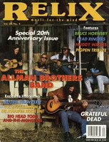 Relix: Volume 20, Number 4 - August 1993