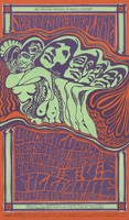 Jefferson Airplane, Quicksilver Messenger Service, Dino Valenti - Bill Graham Presents in Dance-Concert - February 3-5 [1967] - Fillmore Auditorium