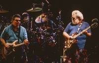 Grateful Dead and Steve Miller: Steve Miller, Mickey Hart, and Jerry Garcia
