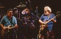 Grateful Dead and Steve Miller: Steve Miller, Mickey Hart, and Jerry Garcia
