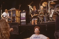 Grateful Dead, ca. 1990s: Phil Lesh, Bob Weir and Bill Kreutzmann, with Dennis McNally below