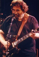 "Jerry Garcia at the ""So Far"" video taping session"