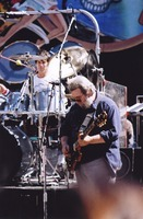 Grateful Dead: Jerry Garcia, with Mickey Hart in the background