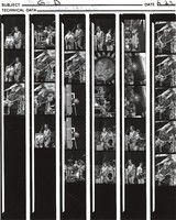 Grateful Dead at the Greek Theatre: contact sheet with 27 images