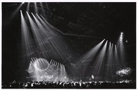 Grateful Dead: view of the stage and light show