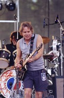 RatDog, ca. 2001: Bob Weir, with Jay Lane in the background