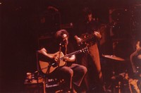 Grateful Dead in an acoustic set: Jerry Garcia and Phil Lesh
