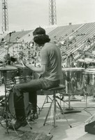 Grateful Dead: Mickey Hart, from the back