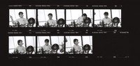 Mickey Hart: contact sheet with 7 images