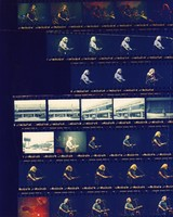 Grateful Dead at the Birmingham-Jefferson Civic Center: contact sheet with 32 images