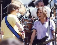 Grateful Dead, ca. 1988: Phil Lesh, Bob Weir, and Bill Kreutzmann