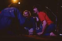 Rhythm Devils: Bill Kreutzmann, Mickey Hart, and unidentified drummer