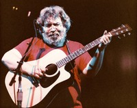 "Jerry Garcia performing ""Little Sadie"" at a Jerry Garcia and John Kahn show"