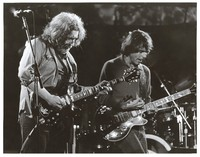Grateful Dead, ca. 1980s: Jerry Garcia and Bob Weir