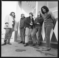 "Grateful Dead: Ron ""Pigpen"" McKernan, Phil Lesh, Bill Kreutzmann, Bob Weir, and Jerry Garcia"