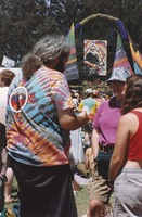 Memorial for Jerry Garcia: mourners at the altar collection
