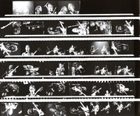 Grateful Dead, ca. 1970s: contact sheet with 33 images