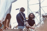 Grateful Dead: Donna Jean Godchaux, Bob Weir and Jerry Garcia