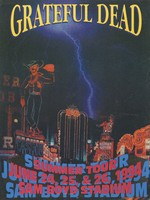 Grateful Dead - Summer Tour, June 24, 25, & 26, 1994 - Sam Boyd Stadium