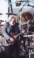 Jerry Garcia in a blue blazer