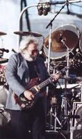 Jerry Garcia in a blue blazer