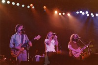 Grateful Dead: Bob Weir, Donna Godchaux, and Jerry Garcia