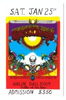 Grateful Dead - Sons of Champlin - Initial Shock - Saturday, January 25th, [1969] - Avalon Ballroom