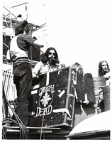 Mickey Hart, with unidentified others