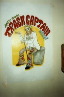"Deadheads ""trash captain"" poster"