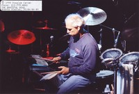 Bill Kreutzmann playing talking drum