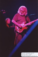 Grateful Dead: Jerry Garcia, with Vince Welnick in the background