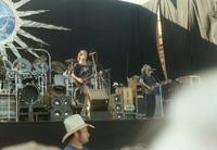 Grateful Dead, ca. 1980s: Bill Kreutzmann, Mickey Hart, Bob Weir, Jerry Garcia
