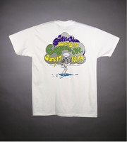 "T-shirt: ""Grateful Dead"" - dancing bears, clouds, rain, lightning"