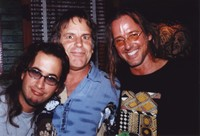Jeff Chimenti, Bob Weir, and Kurt Mahoney