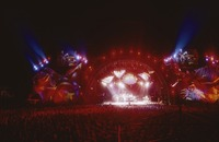 Grateful Dead, ca. 1995: stage lighting