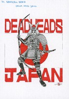 Japan Deadheads poster with letter