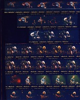 Grateful Dead at The Pyramid: contact sheet with 32 images