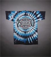 "T-shirt: ""Twenty Five Years / Grateful Dead / 1990"" - eagle, star, stealie. Back: ""1965 / MCMLXV / Twenty-five Years Dead / MCMXC / 1990"""