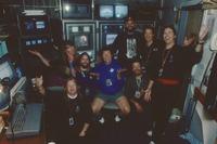 Unidentified crew members, summer 1994