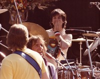 Grateful Dead: Mickey Hart, with Phil Lesh and Bob Weir in the foreground