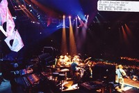 Grateful Dead: view from behind and above the stage