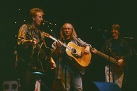 Graham Nash, David Crosby, and Phil Lesh