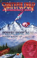 Grateful Dead - Summit Conference II - Boreal Ridge, Donner Summit,  August 17, 1986. The highest Grateful Dead concert in the world [show canceled]