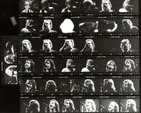 Grateful Dead, ca. 1980s: contact sheet with 38 images