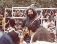 Jerry Garcia with the Diga Rhythm Band