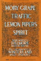 Moby Grape, Traffic, Lemon Pipers, Spirit -Bill Graham Presents in San Francisco - March 21 [1968], Fillmore, Lights by Holy See -March 22-23 [1968], Winterland, Lights by Glenn McKay's Headlights